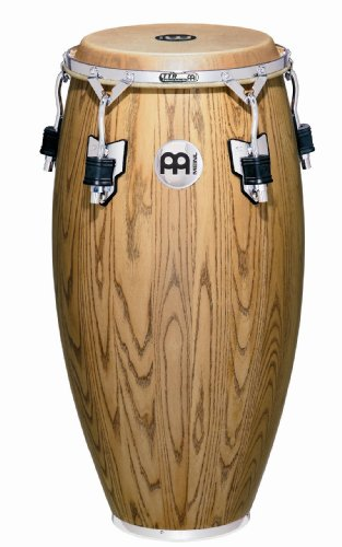 Meinl Percussion WC11ZFA-M Woodcraft Series 11-Inch Quinto, Zebra Finished Ash - Matte by Meinl Percussion