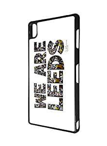 Leeds United Association FC Football Team Logo Sony Xperia Z3 Funda Case, Solid Sony Xperia Z3 Funda Case Football Club Logo