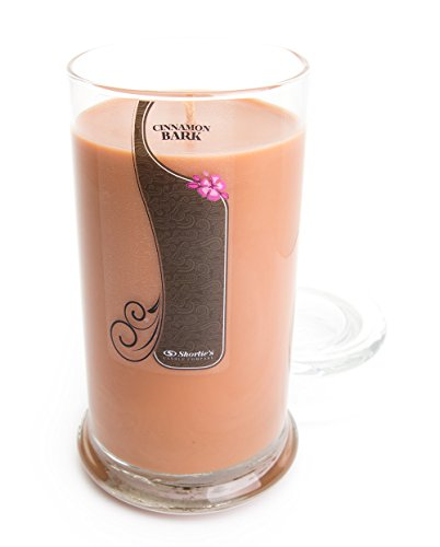 Cinnamon Bark Candle - 16.5 Oz. Highly Scented Brown Jar Candle - Bakery Candles Collection