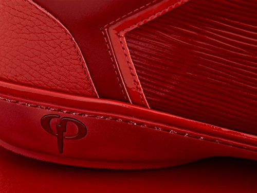 Phinomen Luksus Sneaker - Ægte Læder - Håndlavet Lavet I Italien Rød Lav fgkdptO