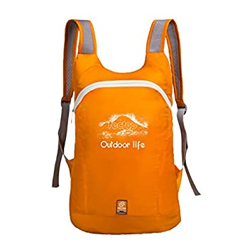 Couples Backpack - tectop Outdoor Couples Casual Camping Backpack Women and Men  Sports Trekking Hiking Ultra-light Tourist Bags Orange  Amazon.co.uk  Sports  ... 28edd8259f2a9