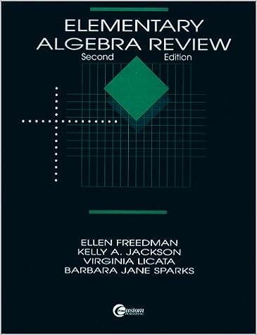 Elementary Algebra Review PDF HisremomiTk