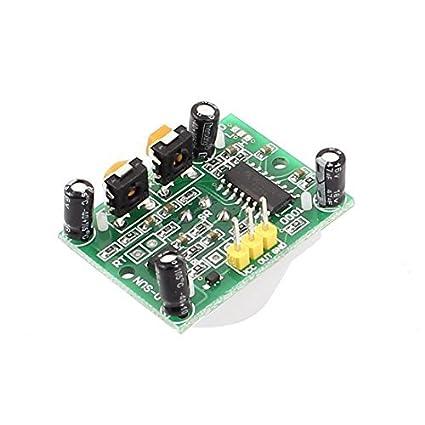 eDealMax HC-SR501 Ajuste Mini infrarrojos IR Junta módulo Detector del Sensor de movimiento