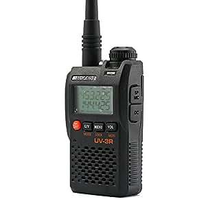 BaoFeng UV-3R 136-174/400-470 MHz Dual-Band Ham Radio (Black)