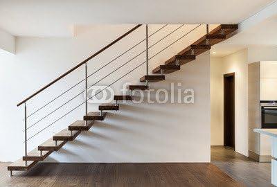 Compra Beautiful Modern altillo, escalera y ventana (48697426), madera 3 mm, 90 x 60 cm en Amazon.es