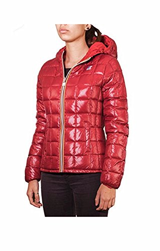 K-Way K002II0 - Abrigo De Plumas para mujer Red Scarlet-Red Dk