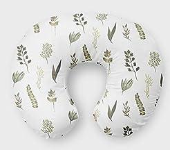 Fern Nursing Pillow Slipcover Greenery N...