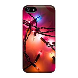 DrunkLove Perfect Tpu Case For Iphone 5/5s/ Anti-scratch Protector Case (holiday Lights)