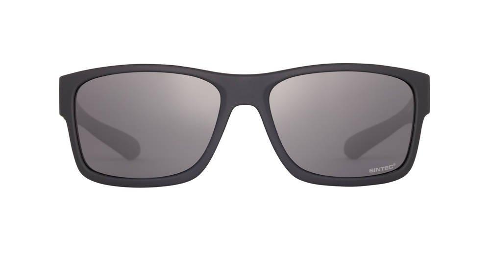 Sinner Erwachsene Sonnenbrille Sundown Wayfarer Polycarbonat Sintec Polarisiert, Matt Schwarz, SISU-671-10-P10