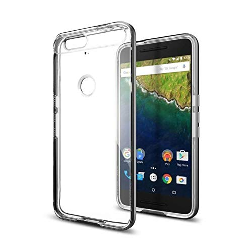 Spigen Neo Hybrid EX Designed for Google Nexus 6P Case (2015) - Gunmetal