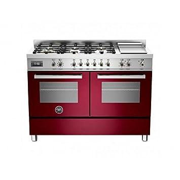 Bertazzoni Cocina Professional pro1206gmfedvit 120 cm 2 Hornos ...