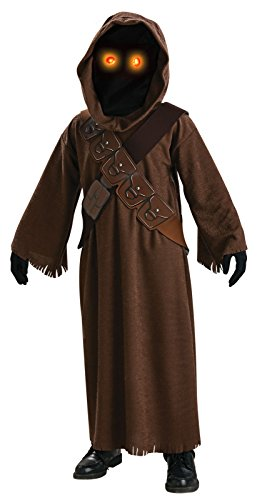 (Star Wars Jawa Costume with Light Up Eyes - One Color -)