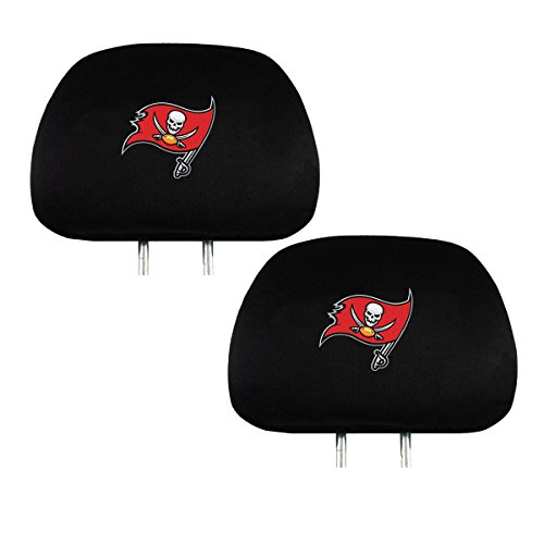 (Official National Football League Fan Shop Authentic Headrest Cover (Tampa Bay Buccaneers))