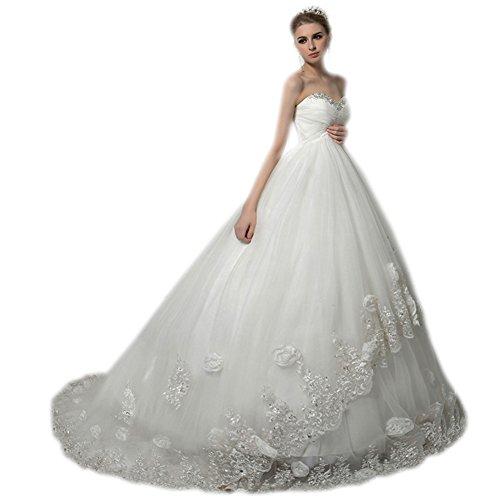 Aurora Mariée 2017 Femmes Empire Sweetheart Perles Robe De Mariée De Plage Enceinte D'ivoire Mariée