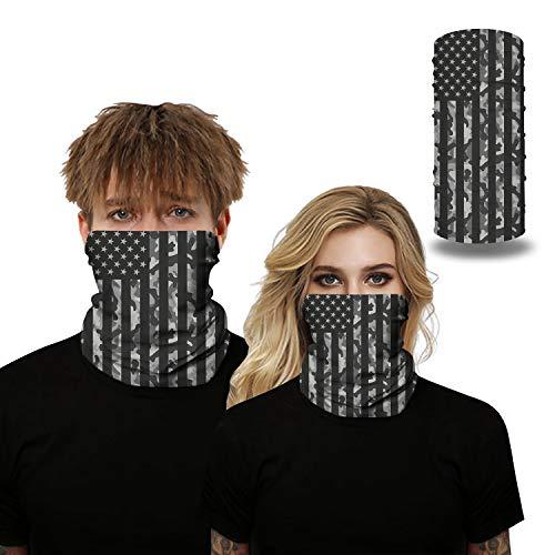 BOTINDO Fashion Face Bandanas Sports & Casual Headwear Seamless Neck Gaiter, Headwrap, Balaclava, Helmet Liner (Galaxy Space)