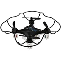 Dwi Dowellin Mini Drone For Kids 2.4GHz 6 Axis Gyro Radio Control Mini RC Quadcopter M9912 Black