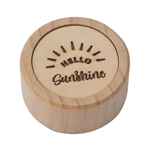 (Noland Your are My Sunshine Tune, Small Wooden Music Box for Women, Girls, Great Gift for Birthday, Anniversary,Mother's Day )
