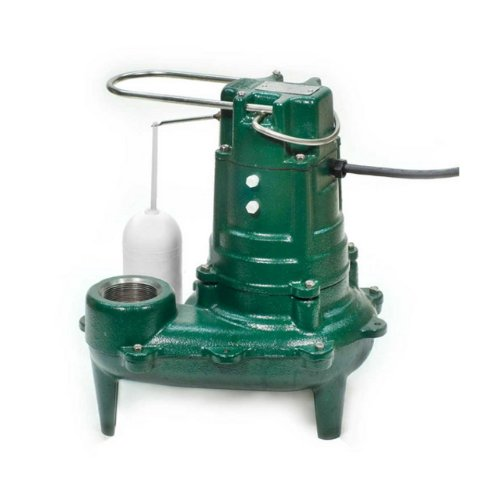 Waste Mate Submersible Pump - Zoeller 267-0020 115-Volt 1/2 Horse Power Model M267 Waste-Mate Automatic Cast Iron Single Phase Submersible Sewage/Effluent Pump