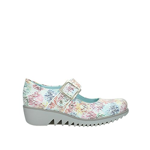 Wolky Blanc Femme Mocassins 70980 Pour Cuir multi Move RwgrTR