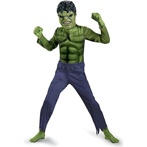 Disguise Hulk Avengers Basic Costume