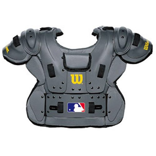 Wilson Pro Platinum Umpire Chest Protector (10 3/4-Inch) by Wilson
