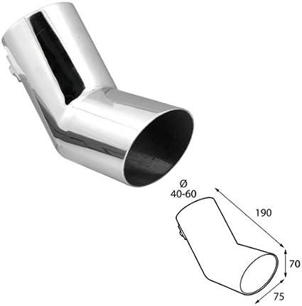 ER60013 - Acero inoxidable de tubo de escape del tubo de escape de ...