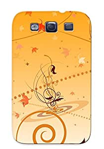 Exultantor Perfect Tpu Case For Galaxy S3/ Anti-scratch Protector Case (autumn Leaves)