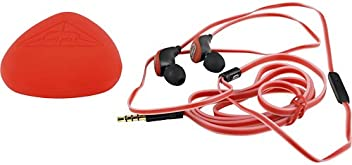 Ecko EKU-GLW-RD Glow In-Ear Headphones - Red