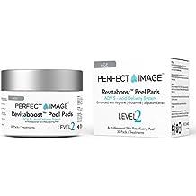 REVITABOOST PEEL Anti-Aging Peel Pads (30) - Enhanced with Glycolic   TCA   Mandelic Acid   Arginine   Glutamine   Soybean