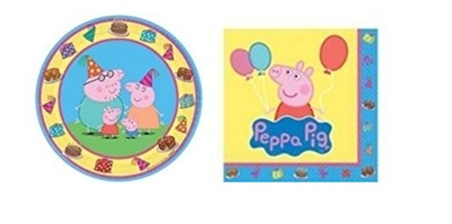 Peppa Pig Dessert Party Pack 8-guests