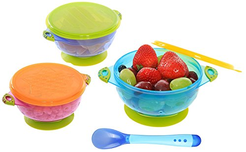 Suction Baby Bowls Lids Stackable product image