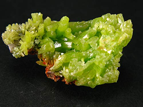 Fine Green Pyromorphite Cluster From China - 1.4
