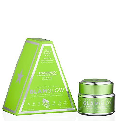 GLAMGLOW GLAM GLOW POWER MUD POWERMUD DUAL DEEP CLEANSE MUD TO OIL TREATMENT - single pack
