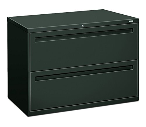 HON 792LS 700 Series 42 by 19-1/4-Inch 2-Drawer Lateral File, (42in Wide Charcoal)