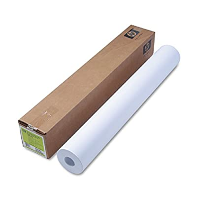 """36"""" X 300' Roll Bright White, Ink Jet Paper, 24#, For Designjet 1000 Series HEWC6810A"""