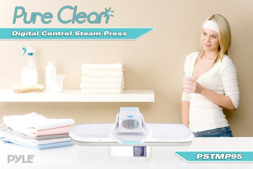 Pyle PSTMP95 Pure Clean Digital Control Table Top Steam Press with Steam Burst Function, Large Ironing Surface and Adjustable Temperature by Pyle (Image #3)