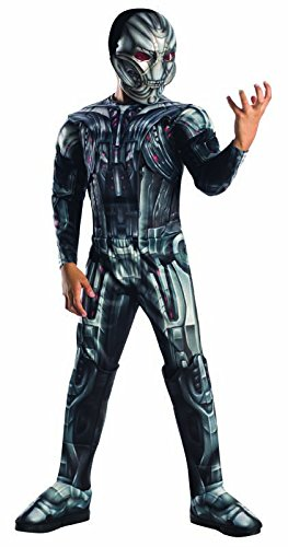 Bad Guy Superhero Costumes (Rubie's Costume Avengers 2 Age of Ultron Child's Deluxe Ultron Costume, Small)