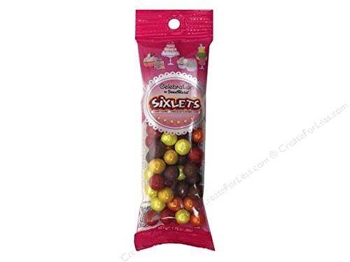 Celebration by Sweetworks Autumn Mix 1.75 oz (Sixlets, 3 Packs) -