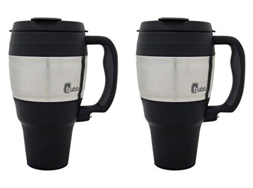bubba 34 oz travel mug classic black (2 Pack)