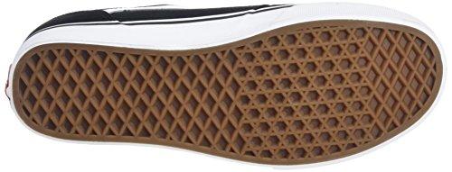 Vans Blues-white Chapman Stripe Shoe In Pelle Scamosciata Canvas Nero Bianco