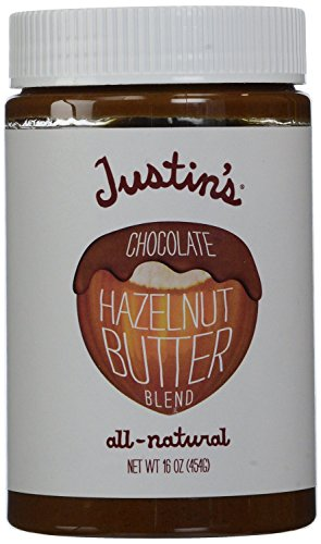 Justin's Nut Butter Natural Chocolate Hazelnut Butter - 16 oz (Pack of 2)