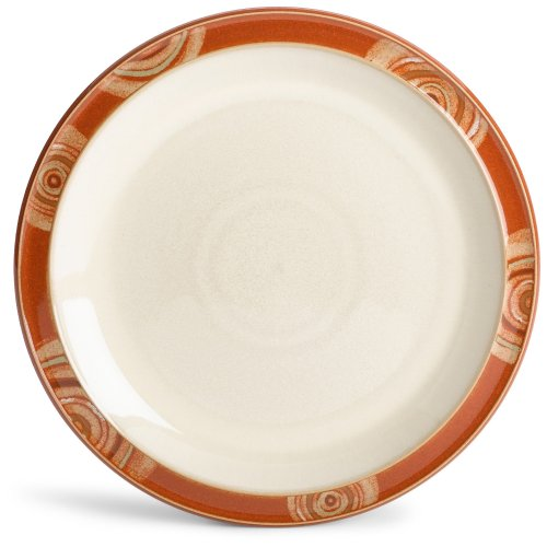 Denby Fire Chilli Rim Salad Plate