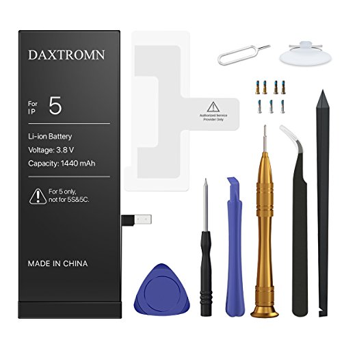 DAXTROMN Battery Model iP5 - Replacement...