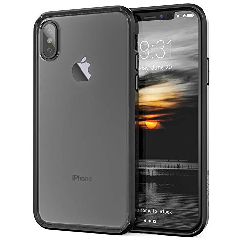 Crave iPhone Xs Case, iPhone X Case, Slim Guard Protection Series Case for Apple iPhone X (5.8 Inch) - Black...