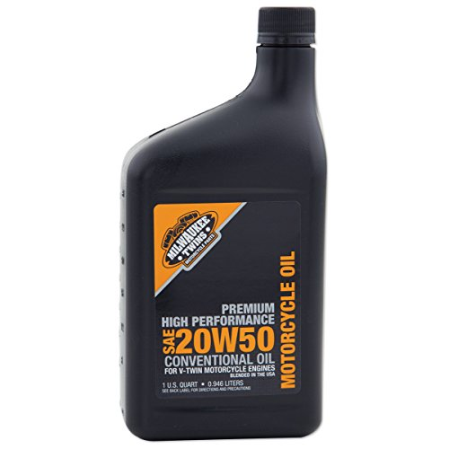 Milwaukee Oil - Milwaukee Twins 20W50 Engine Oil Quart 2801-042F