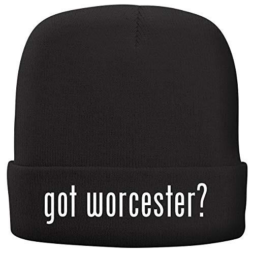 BH Cool Designs got Worcester? - Adult Comfortable Fleece Lined Beanie, Black ()