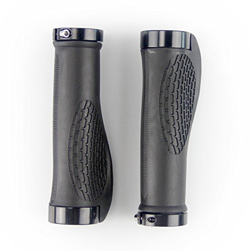 Onedayshop® 1 Pair Lockable Mountain Bike Bicycle Cycling TPR Rubber Handlebar Grip Hand Grip