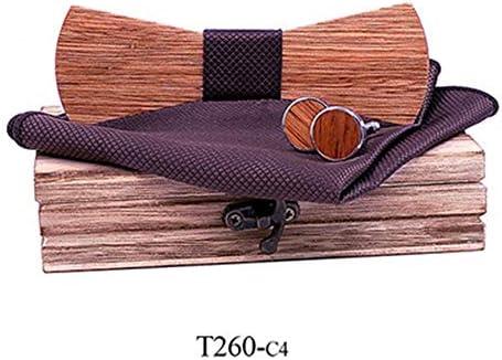 Corbata de lazo de madera maciza Corbata de tendencia europea y ...