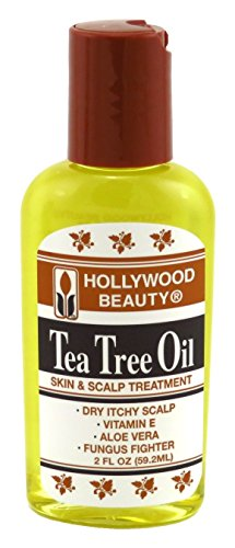 Hollywood Beauty Tea Tree Oil 2 Ounce (59ml) (3 Pack)