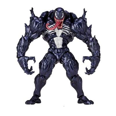 - Red Venom Toys Venom Action Figure The Amazing Bjd Joints Movable Venom Figure Model Toy- Complete Series Merchandise - Legends Gifts Movies Comic Toys Collection